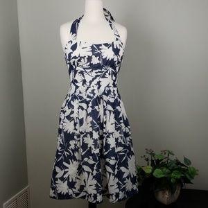 Barneys New York CO OP | Floral Halter Dress |